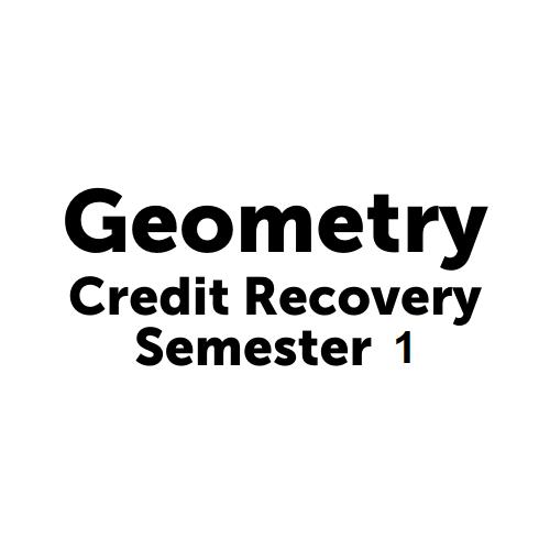 MAT3002S1JCJAX - Geometry Semester 1 Job Corps Jacksonville