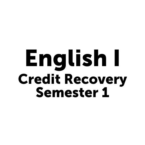 ENC1001S1JC- English I Semester 1 JAX