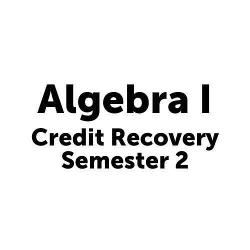 MAT2001S2JCJAX Algebra I - Semester 2 Job Corps Jacksonville