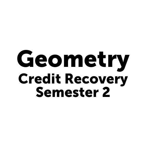 MAT3002S2JCJAX Geometry Semester 2 Job Corps- Jacksonville
