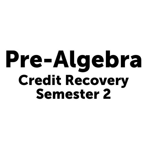 MAT1001S2JCJAX Pre-Algebra Semester 2 - Job Corps Jacksonville