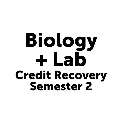 SCI4002S2JCJAX Biology + Lab Semester 2- Job Corps Jacksonville