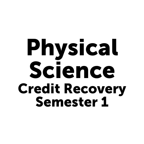 SCI2001S1JCJAX Physical Science Semester 1- Job Corps Jacksonville