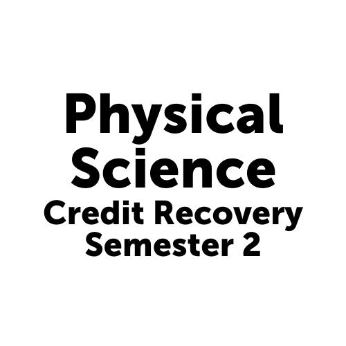 SCI2001S2JCJAX Physical Science Semester 2- Job Corps Jacksonville